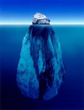 Dangerous iceberg